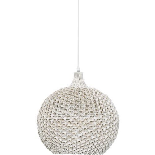 Lampa wisząca COLIN WHITE - 1xE27/40W/230V, kolor biały