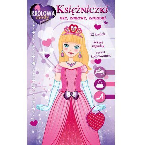 Księżniczki Gry zabawy zagadki Zestaw kreatywny z kredkami - Opracowania Zbiorowe (9788377739174)