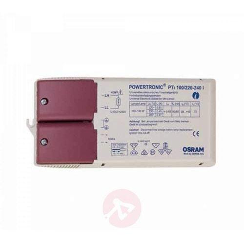 Pti 100/220...240 i elektroniczny układ do opraw oświetleniowych marki Osram