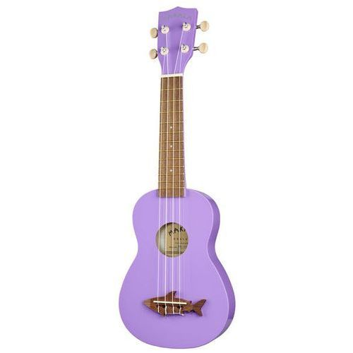 Kala Makala Shark SS-PUR ukulele sopranowe, purpurowe
