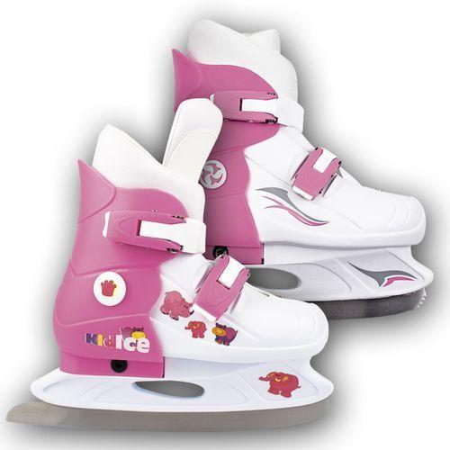 Dziecięce łyżwy figurowe SPOKEY Kidice 80146 (rozmiar M, 33-36) - oferta [0529652355d5142b]