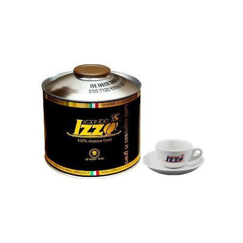2 x Izzo Caffe Arabica Gold 1 kg + filiż. cappuccino 160 ml