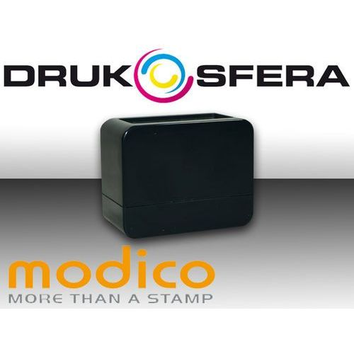Pieczątka nomo 3 1/2 czarny połysk pieczątka modico nomo 3 1/2 czarny połysk marki Modico