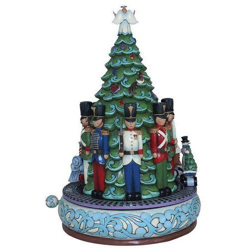 Choinka pozytywka Toy Soldier Express Christmas train musical masterpiece 4044514 Jim Shore figurka ozdoba świąteczna melodia