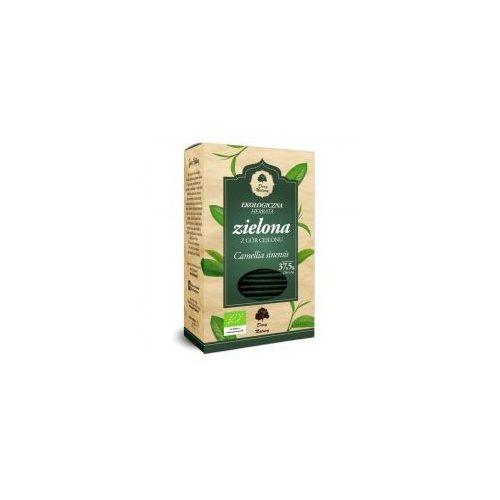 Herbata zielona liściasta cejlońska fix bio 25*1,5g marki Dary natury