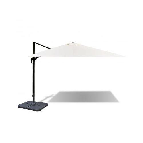 Aluminiowy parasol rzymski 3 x 4 m z przenośną podstawą - produkt z kategorii- parasole ogrodowe