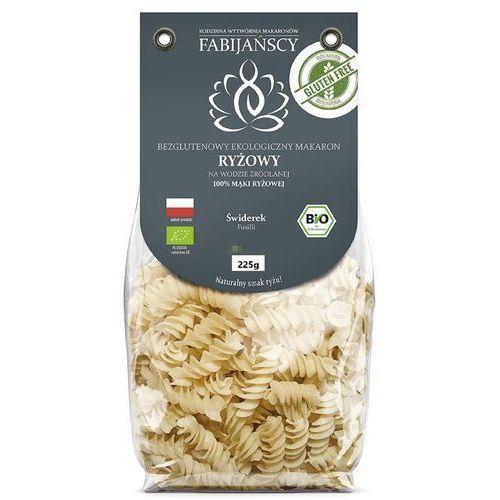 Makaron (z ryżu białego) świderki fusilli bezglutenowy bio 225 g - fabijańscy marki Fabijańscy (makarony)