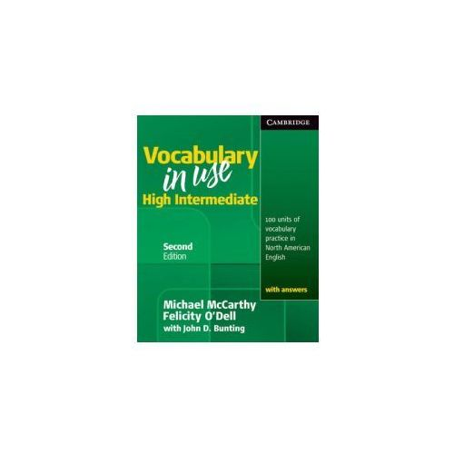 Vocabulary in Use High Intermediate Student's Book with Answ, Cambridge University Press