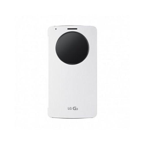 LG Quick Circle Case etui do LG G3 (białe) CCF-340G (8806084953582)