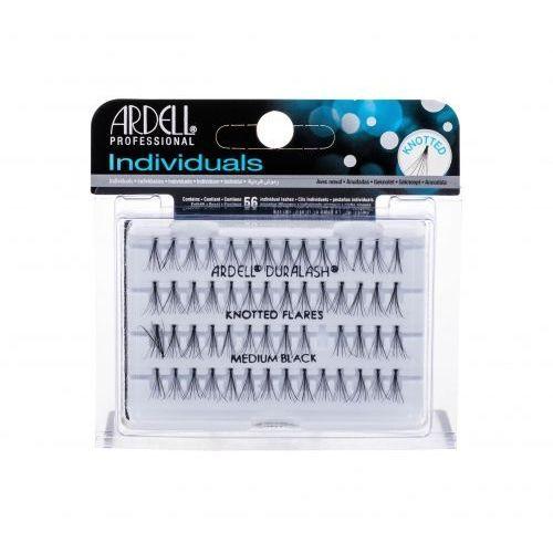 Ardell Individuals Duralash Knotted Flares sztuczne rzęsy 56 szt dla kobiet Medium Black