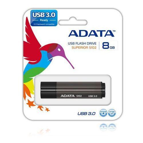 ADATA Flash Disk 8GB USB 3.0 Superior S102 Pro, aluminiowy, kup u jednego z partnerów