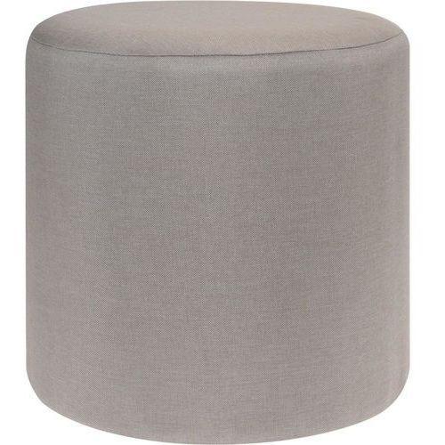 Home styling collection Pufa bawełniana, siedzisko, podnóżek, beżowy - 35 x 35 cm (5902973402896)