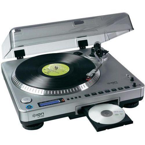 Gramofon ION LP 2 CD, konwerter płyt winylowych => CD, MP3