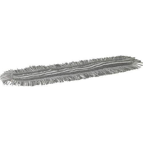 Mop Damp 48, do sprzątania na wilgotno, na rzepy, szary, 600 mm, VIKAN 548760