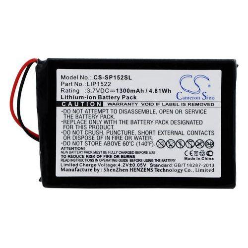 Sony Dualshock 4 Wireless Controller / LIP1522 1300mAh 4.81Wh Li-Ion 3.7V (Cameron Sino), CS-SP152SL