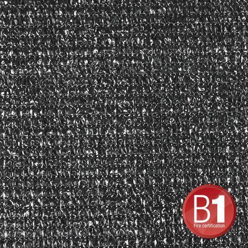 0155 x 46 b - gaza typu 100, 4 x 6 m, z oczkami, czarna marki Adam hall