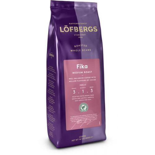 Lofbergs - fika latt morkrost - kawa ziarnista - 400g