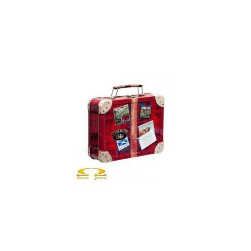 Ciasteczka shortbread puszka walizka 250g marki Walkers