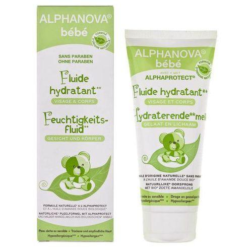 Alphanova Bebe Fluid Nawilżający do Twarzy i Ciała do skóry przesuszonej, 100 ml (3760075070168)