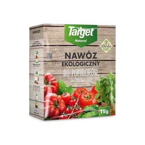 Target natural Nawóz do pomidorów, ogórków i ziół ekologiczny 1 kg