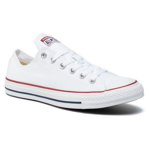 Converse Trampki - all star ox m7652c optical white