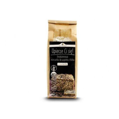Chleb z czarnuszką bezglutenowy mieszanka do wypieku 500 g marki Pięć przemian