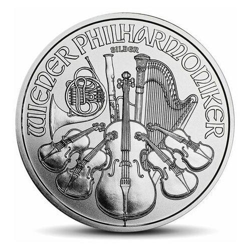 Wiedeńscy filharmonicy 1 uncja srebra - 15 dni marki Münze Österreich