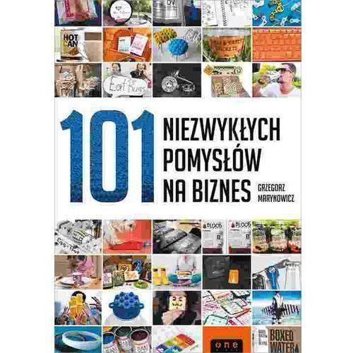 101 niezwykłych pomysłów na biznes, Grzegorz Marynowicz