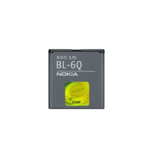 Nokia 6700 classic / BL-6Q 970mAh Li-Ion 3.7V (oryginalny) - produkt z kategorii- Baterie do telefonów