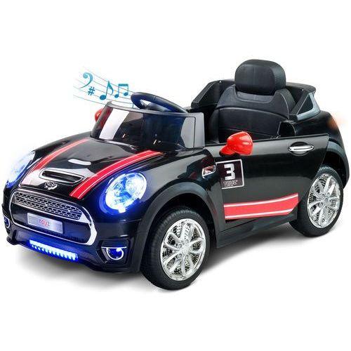 Pojazd samochód dziecięcy na akumulator + pilot maxi czarny marki Toyz