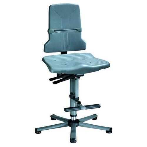 Bimos Obrotowe krzesło do pracy, mechanizm synchroniczny, szkielet z rurki stalowej na