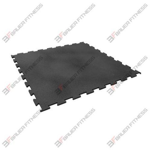 Mata gumowa czarna 1000x1000x10mm marki Bauer fitness