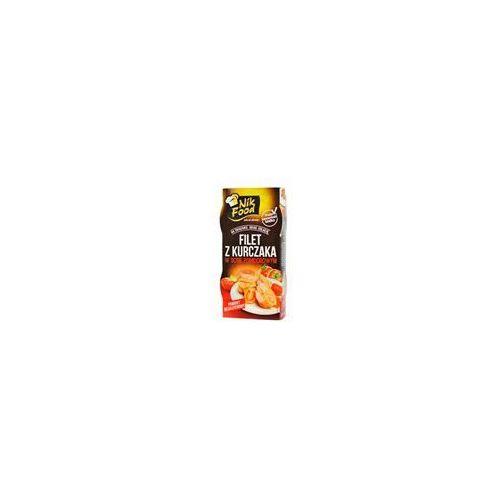 NikFood Filet z kurczaka w sosie pomidorowym 2x90g