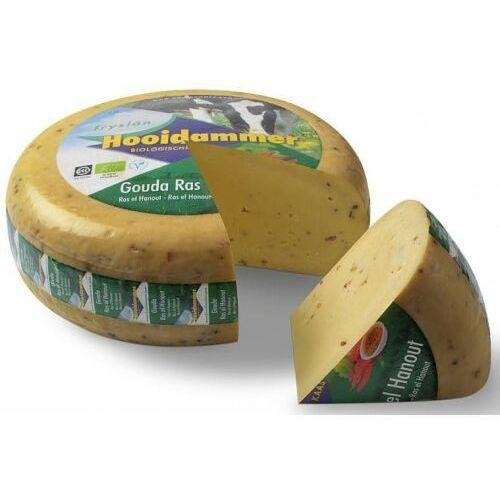 Ser dojrzewający z przyprawą ras el hanout 50% tłuszczu bio 4,5 kg - hooidammer marki Hooidammer (sery dojrzewające)