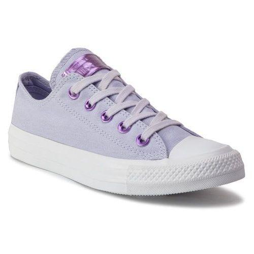 Converse Trampki - ctas ox 163284c oxygen purple/washed lilac