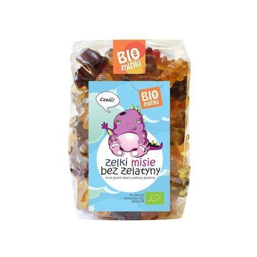 Biominki (przekąski dla dzieci) Żelki (misie) bez żelatyny bio 400 g - biominki (5902605417885)
