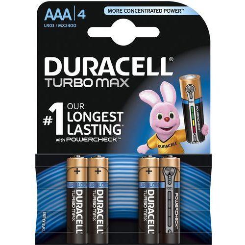 Duracell Bateria Turbo AAA/LR3 4szt. blister, 1_622593