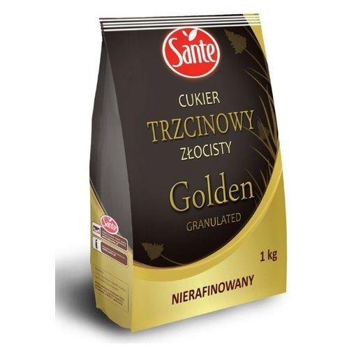 Cukier trzcinowy złocisty nierafinowany Golden Granulated 1 kg Sante