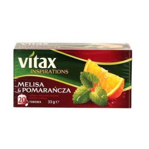 Herbata ekspresowa melisa/pomarańc Vitax 20t
