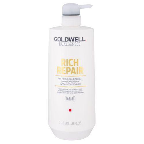 rich repair, odżywka odbudowująca barierę ochroną włosa, regeneruje 1000ml marki Goldwell