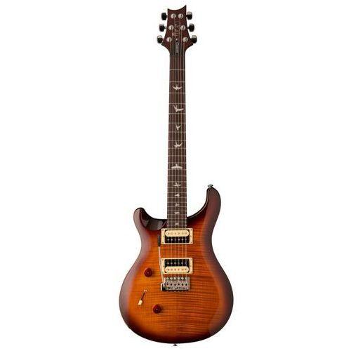 Prs 2018 se custom 24 ″lefty″ tobacco sunburst - gitara elektryczna, leworęczna
