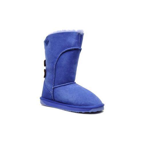 Promocja -50% : Półbuty i botki  ALBA Damskie Niebieskie, Emu Australia
