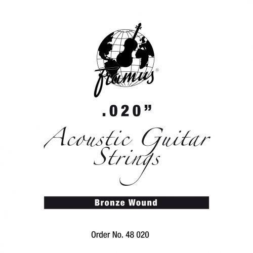 Framus bronze - struna pojedyncza do gitary akustycznej.020, wound