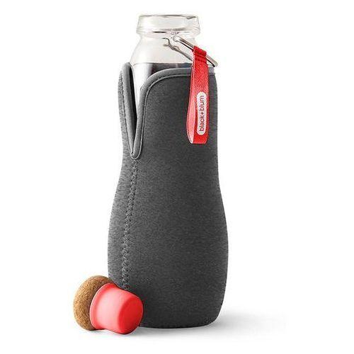 Black+blum Butelka na wodę w pokrowcu eau good red