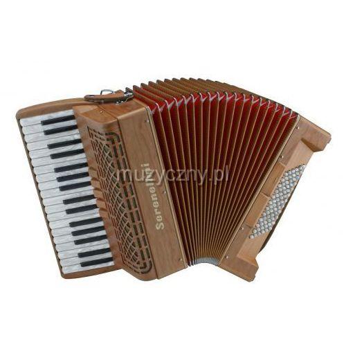 Serenellini 343 w cherry 34/3/5 72/4/2 akordeon (wykoczenie drewniane)