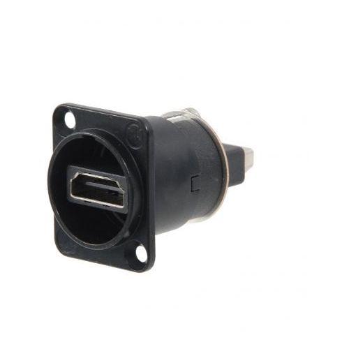 Neutrik NAHDMI-W-B złącze tablicowe HDMI (czarne)