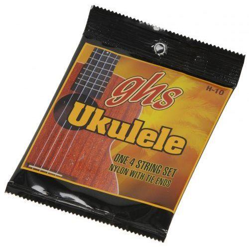 GHS H10 struny do hawaiskiego ukulele, czarne