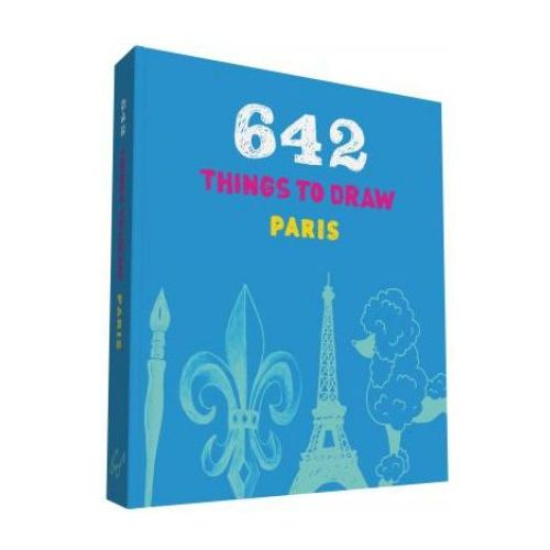 642 Things to Draw: Paris (pocket-size) (9781452147284)