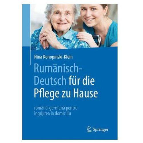 Rumanisch-deutsch Fur Die Pflege Zu Hause, Konopinski-klein, Nina