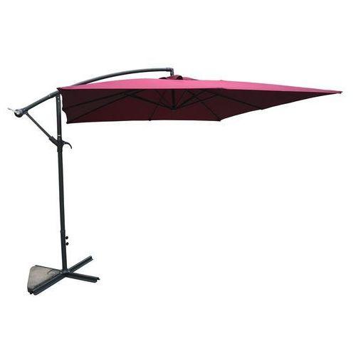 Rojaplast Parasol ogrodowy 8080 (270x270cm) bordowy (8595226707229)